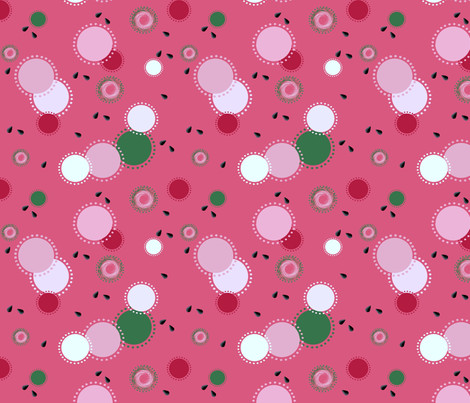 Wild About Watermelon fabric by kiniart on Spoonflower - custom fabric
