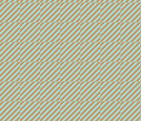 Fishy_Stripes fabric by chunkypunky on Spoonflower - custom fabric