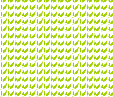 leaves fabric by nindespin on Spoonflower - custom fabric