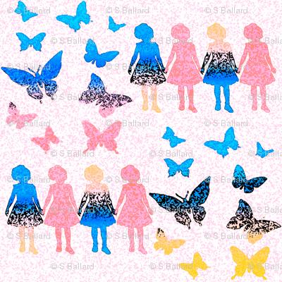 Paper dolls and Butterflies 2