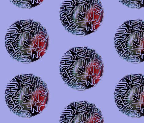 Alphabet Spots fabric by redkite on Spoonflower - custom fabric