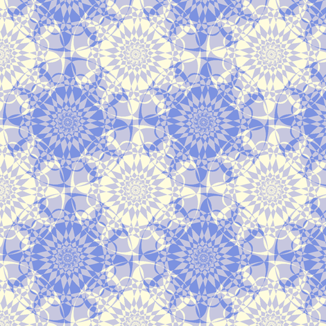 Star-Light - Ice fabric by inscribed_here on Spoonflower - custom fabric
