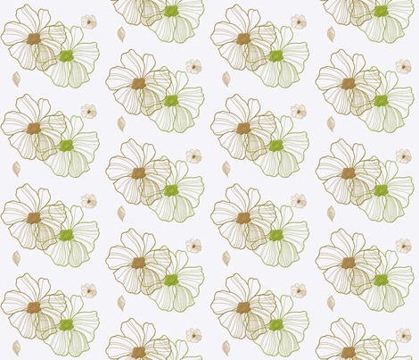 flower_big_3-ed fabric by snork on Spoonflower - custom fabric