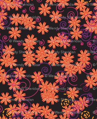 Flower Power orange