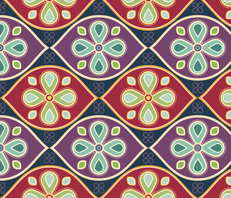 Rococco fabric by cyoungquist on Spoonflower - custom fabric
