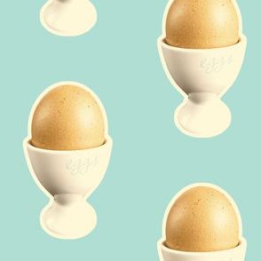 Breakfast Eggs (aqua)