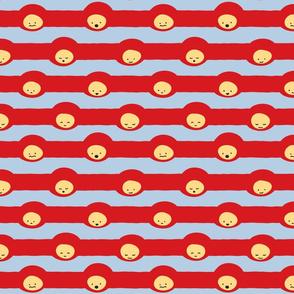 stripeface