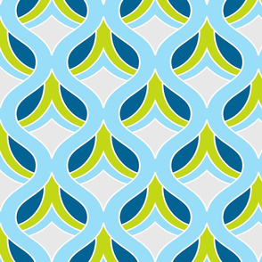 Dijon Retro Fabric Print