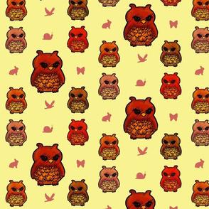 Owls Mellow Yellow