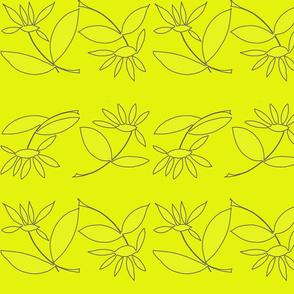 july_floral_grey_outline