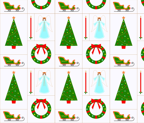 vll_60s_xmas_montage-ed-ed fabric by victorialasher on Spoonflower - custom fabric