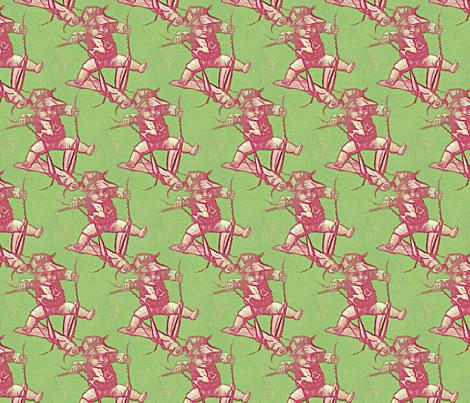 Cricket rider fabric by nalo_hopkinson on Spoonflower - custom fabric