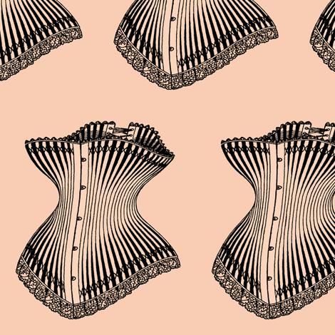 Nip and Tuck fabric by nalo_hopkinson on Spoonflower - custom fabric