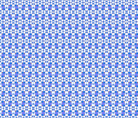 Blueberry Blonde Calico Print fabric by blueberryblonde on Spoonflower - custom fabric