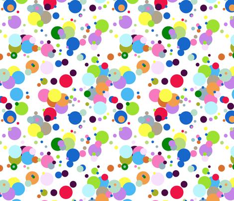 Fresh ButterBar Motif Bright Dots fabric by graham_gardens on Spoonflower - custom fabric