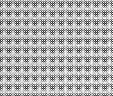Gingham_Invaded-BLK fabric by voodoorabbit on Spoonflower - custom fabric