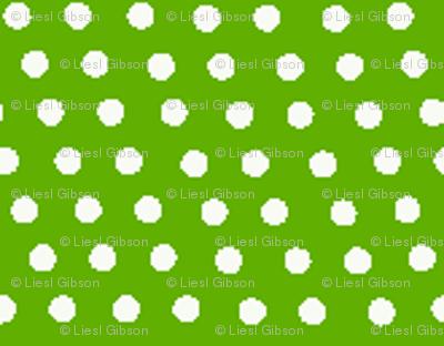 Dark Green Dots