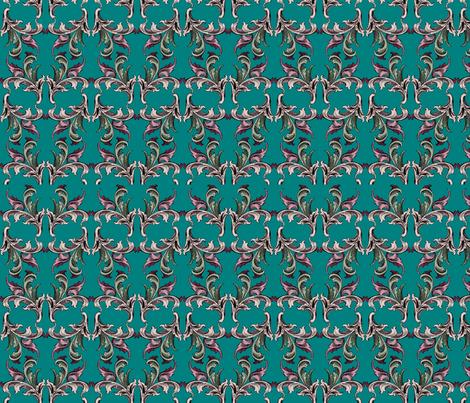 Türkis fabric by corinna on Spoonflower - custom fabric