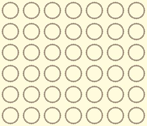 Circle Rocks-Grey fabric by applesandorange on Spoonflower - custom fabric
