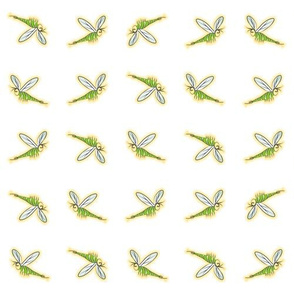 BugBar Motif Green Mosquito
