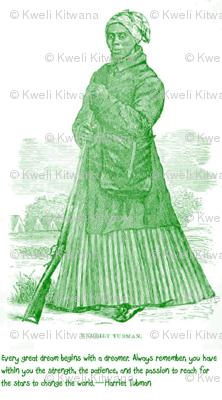 Harriet Tubman  Quote-Green 001
