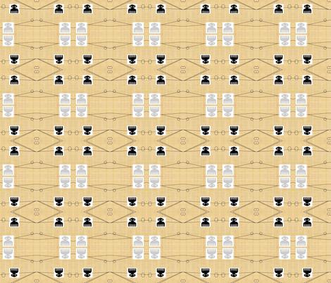 AfroGraphic-009 fabric by kkitwana on Spoonflower - custom fabric
