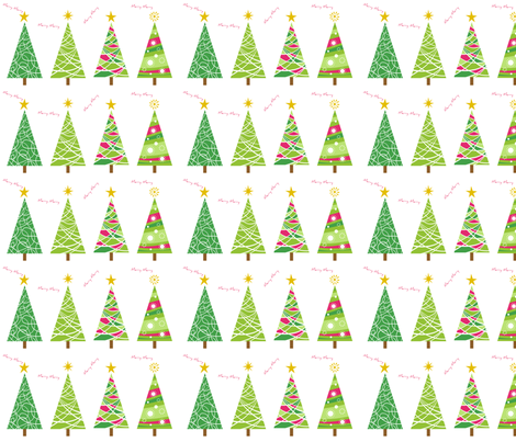 christmas-trees fabric by stephen_of_spoonflower on Spoonflower - custom fabric