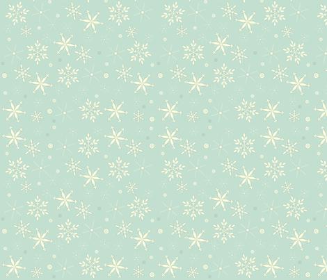 snowflakefabric fabric by hollybjones on Spoonflower - custom fabric
