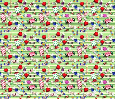 sugarplums fabric by ms_corona on Spoonflower - custom fabric