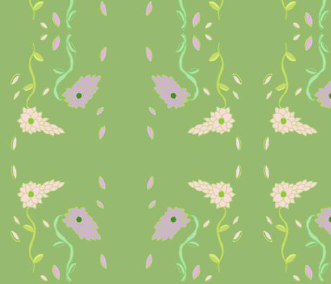 Fluer1 fabric by dragonflyfae on Spoonflower - custom fabric