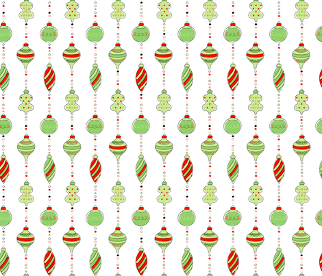 ornaments12x12 fabric by goodnessandfun on Spoonflower - custom fabric