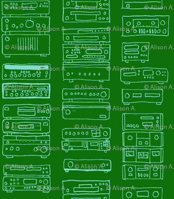 Green in Stereo