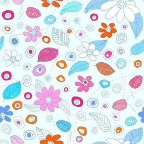 Funky Faded Flowers