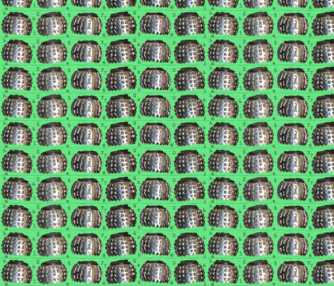 Vintage Type Balls fabric by annstudio on Spoonflower - custom fabric