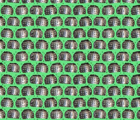 Alphabet Type Balls fabric by annstudio on Spoonflower - custom fabric