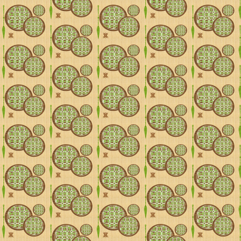 Retro Shield-012 fabric by kkitwana on Spoonflower - custom fabric