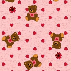 Bear Hugs - Rose