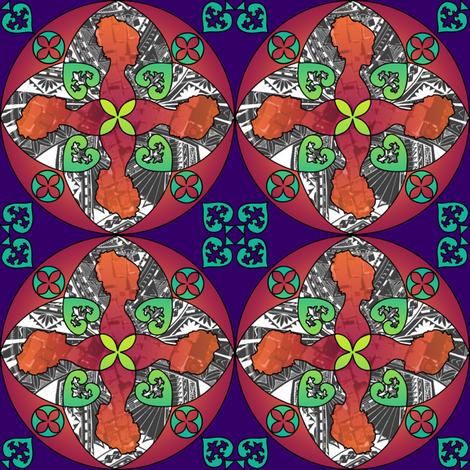 Victoria - Purple fabric by jessicasoon on Spoonflower - custom fabric