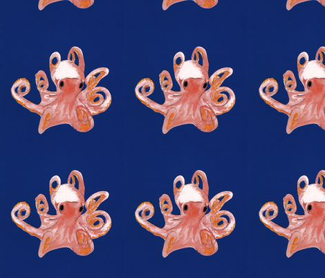 octopus fabric by maghee on Spoonflower - custom fabric