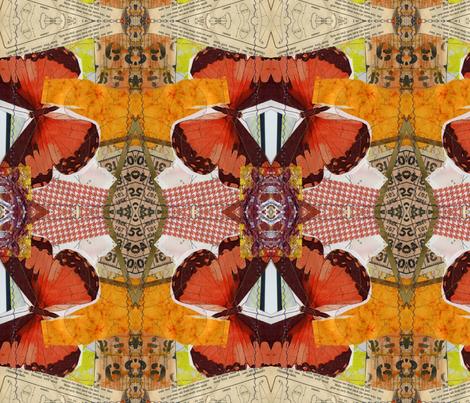 Butterflies fabric by shebaduhkitty on Spoonflower - custom fabric