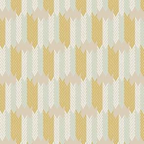 Wheatfield Weave Half Scale