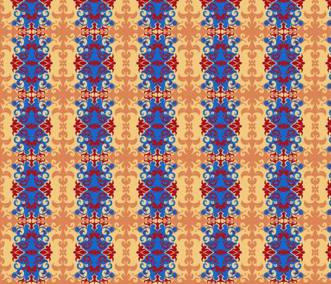 SCK Damask Tuscany fabric by stacyck on Spoonflower - custom fabric