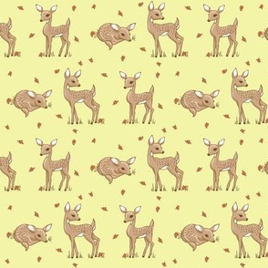 darling deer yellow