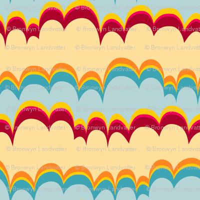 Pepperland : Geo Stripe