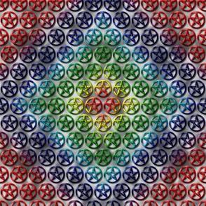 Rainbow Pentacles