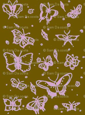 butterflies neopolitan ice cream