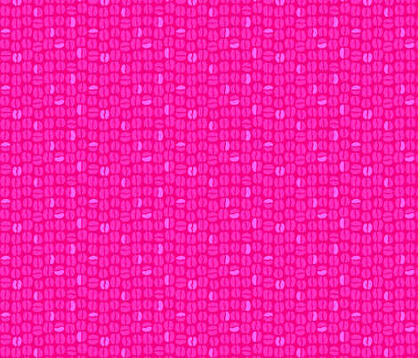 pink beans fabric by robinde on Spoonflower - custom fabric
