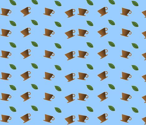Coffee Streamer-015 fabric by kkitwana on Spoonflower - custom fabric