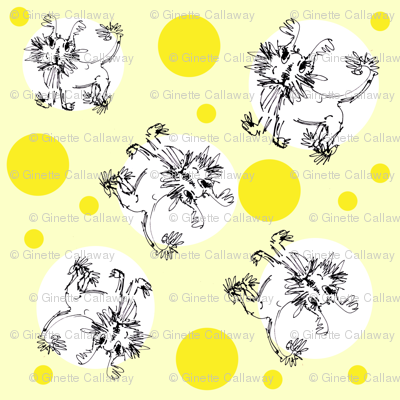 Pooch Pattern Yellow Dots (Any Pattern)