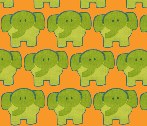 elefant-ch fabric by snork on Spoonflower - custom fabric